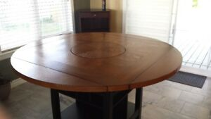 Counter Top High Table and Four Chairs