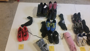 Soccer cleats in great condition.  Some NEW
