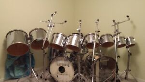 Double Set of Ludwig Drums
