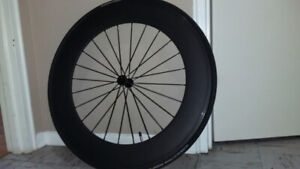 80mm Carbon Clincher Front Wheel