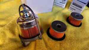 Fuel filter assembly + extra filters & gaskets