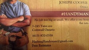 Are you looking for a Handyman? Cornwall Ontario image 1
