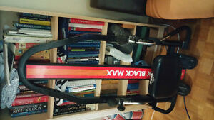 black max rowing machine for sale