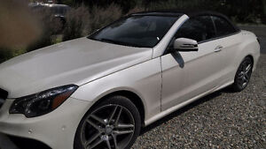 2014 Mercedes E-350 CABRIOLET (converttible) AMG PACK