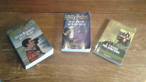 HARY POTTER TOME 1,6,7