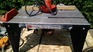 Router table sabre saw Craftman