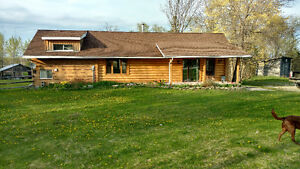 Manitoulin Islaqnd Log House for sale near Bridal veil Falls
