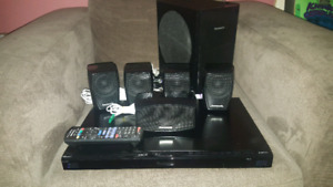Panasonic 3d bluray surround sound system