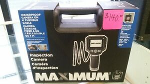 inspection camera ,new, mastercraft