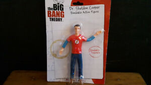 The Big Bang Theory Dr. Sheldon Cooper Figure Mint In Package