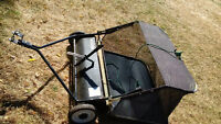 Tow Behind Lawn Sweeper for Sale