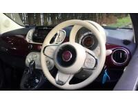 2016 Fiat 500 1.2 Lounge Dualogic Automatic Petrol Hatchback