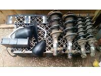 MG ZR / ZS assortment of car parts.