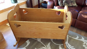 Handmade cradle for sale