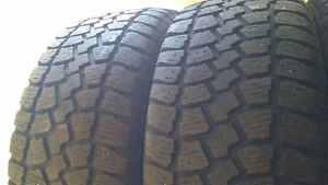 Real nice pair of 205-55-16 snow tires