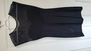 American Apparel fitted black dress