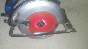 Mastercraft circular saw used twice 75$ obo