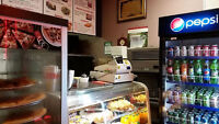 Pizza & Chicken Wings Store, Shwarma, Excellent income.