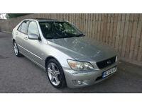 2002 52 Lexus IS 200 2.0 ( Lexus Navigator ) SE AUTOMATIC SAT-NAV 36.2 MPG PX