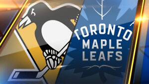 Toronto Maple Leafs vs Pittsburgh Penguins - Oct 18 (Lower Bowl)