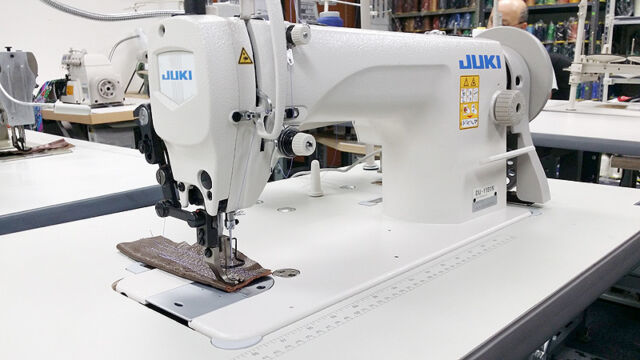 Juki Du 1181n Single Needle Walking Foot Leather Sewing Machine W Servo