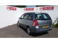 2008 08 VAUXHALL ZAFIRA 1.6 16V EXCLUSIV,GREAT COLOUR.FULL S/H.2 KEYS.FULL MOT.