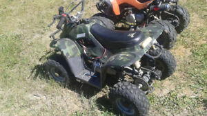 loncin 70cc youth quad,needs battery and cdi box