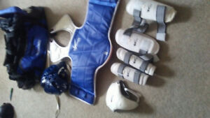 Child's Tae Kwon do sparring gear