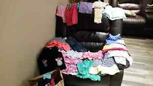 Girl's 3-6 month clothes London Ontario image 1