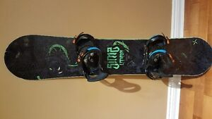 Junior SIMS Snowboard, Boots and Binding