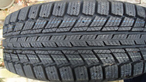 3 New, 1 at 75%. 205-65R15 Winter Tires  $65each  ALL 4 for $200