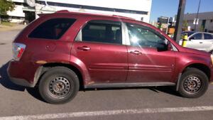2007 Chevrolet Equinox VUS. A vendre rapidement!!!