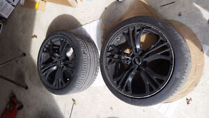 Factory Audi R8 wheel and tire package