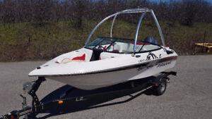 """Piranha 1810 Boat Pleasure craft  18' 10""""  with  Yamaha  115 HP"""