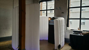 Spiral Inflatable Photobooth -Earn $1k+ per night! photo booth