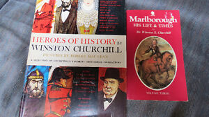 Sir Winston Churchill books(2)
