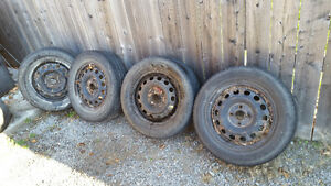 Honda rims for sale (Winter Rims) Kawartha Lakes Peterborough Area image 2