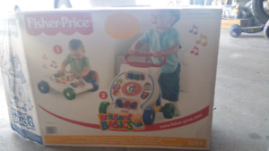 Fisher price brilliant musical activity walker