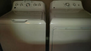 G.E.WHITE WASHER AND DRYER