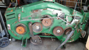 John Deere 7  IRON MOWER DECK 60 in