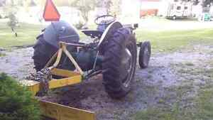 1952 Ferguson tractor and plow
