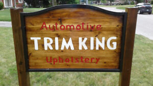 TRIM KING AUTOMOTIVE UPHOLSTERY