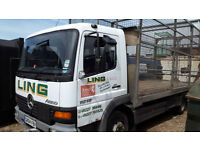 Mercedes-Benz 10 TONNE LORRY + CAGE+ TAIL LIFT LORRY FOR EXPORT ?
