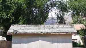 Looking for free/good quality recycled wood to fix my shed roof.