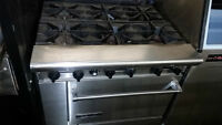 Kitchen Stoves - Restaurant Equipment - New and Used For Sale