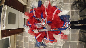 Montreal Canadiens Wreath