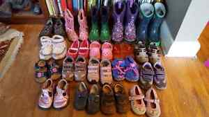 Lot of shoes size6-9 bogs padraigs geox  only selling as a lot