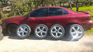 2004 Pontiac Grand Am and tires