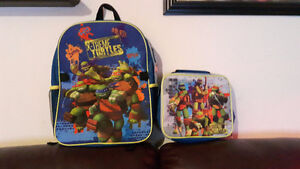 TMNT Backpack and Lunch Bag $10