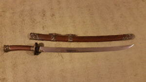 Battle Ready (Sharp) Hand Forged Chinese Dao (War Sword)